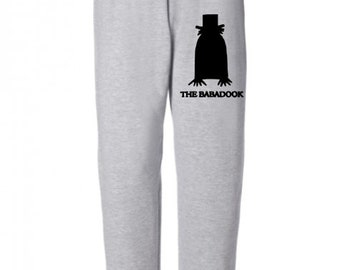Babadook Horror Sweatpants Lounge Pajama Comfortable Comfy Unisex Kids Youth Clothes Merch Massacre