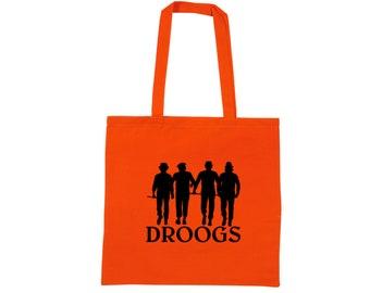 Clockwork Orange Droogs Ultra Violence Ultraviolence Clock Work Prison Movie Murder Horror Canvas Tote Bag Market Grocery Merch Massacre