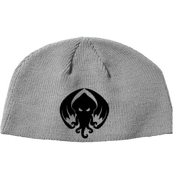 Cthulhu Call of Cthulu HPL Lovecraft Elder God Eldritch Beanie Knitted Hat  Cap Winter Clothes Horror Merch Massacre Christmas Black Friday 5f98c7b42bc