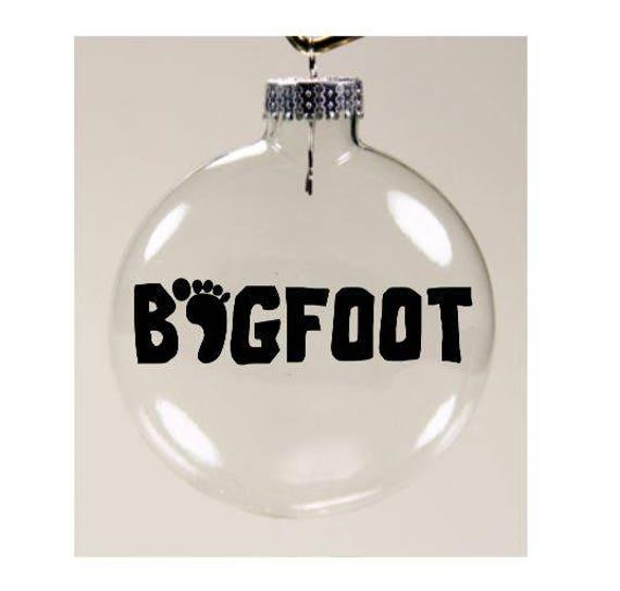 image 0 - Bigfoot Christmas Ornament
