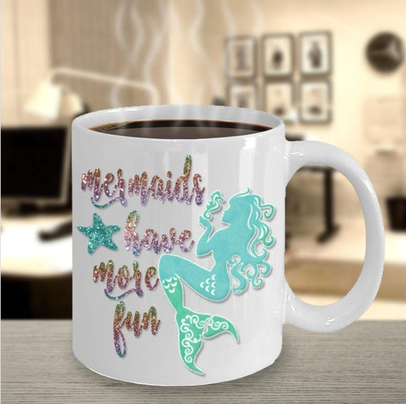 Mermaids Do It Better 11 Ounce Ceramic Coffee Mug