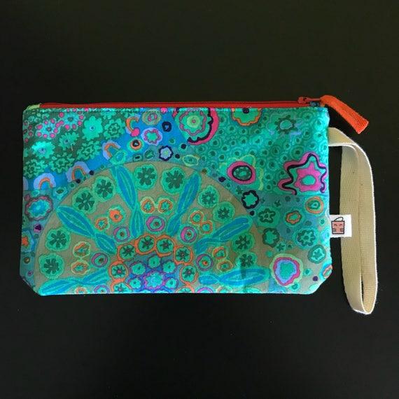 Handmade knitted Zipper Pouch Pencil Case Make-Up Bag Coin Purse