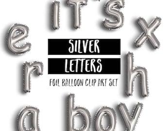 Gold Foil Mylar Balloon Lowercase Letter Clipart Gold Etsy