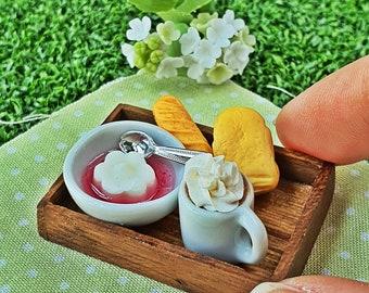 20 Loose Green Pon De Ring Donut Dollhouse Miniatures Bakery Supply Deco