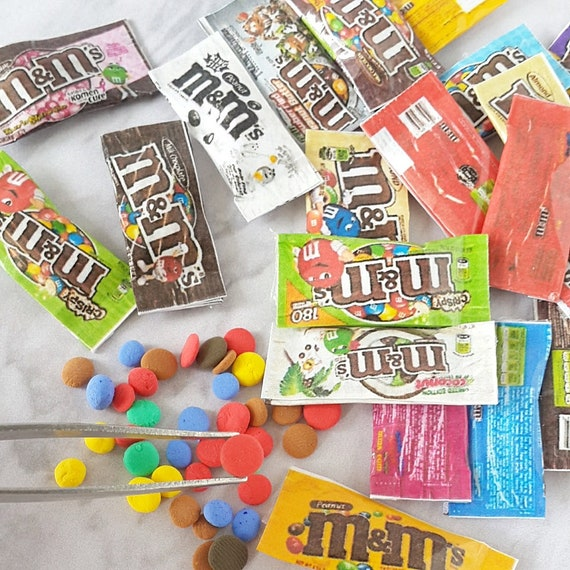 10x Mixed Chocolate Bar Dollhouse Miniature Food Candies Sweet Barbie Doll Tiny