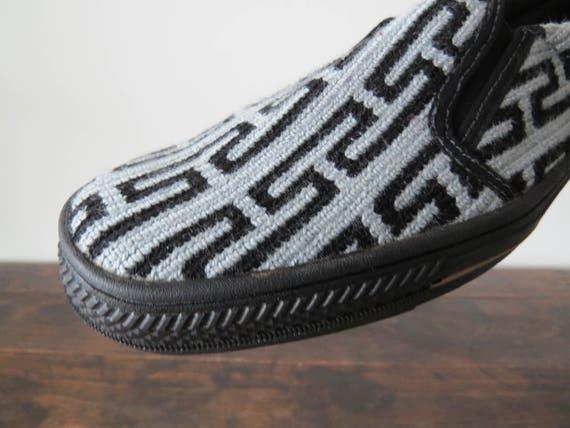 Hombres zapatos tamaño 41, mocasines para hombre, Vans para hombre, zapatos para hombre barco, hombres Slip Ons, zapatos Wayuu, zapatos hechos a mano,