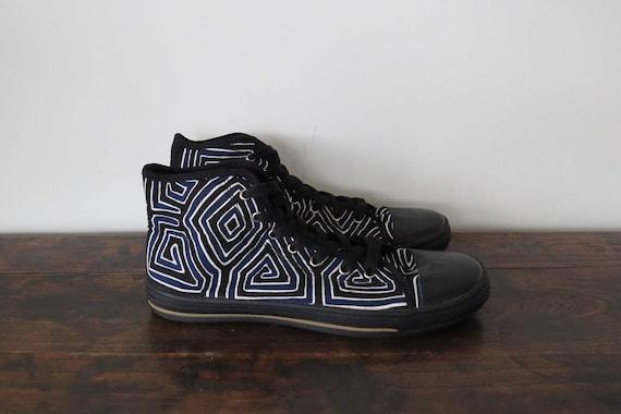 Hombres zapatos talla 44, zapatillas Converse, zapatos del patín, zapatos hechos a mano, Calzado Vegano, zapatos de Mola