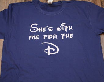 7205bb41aa Disney husband Shirt | Disney TShirt | Men's Disney T-Shirt| Matching Disney  Tshirt | husband disney | disney funny shirt