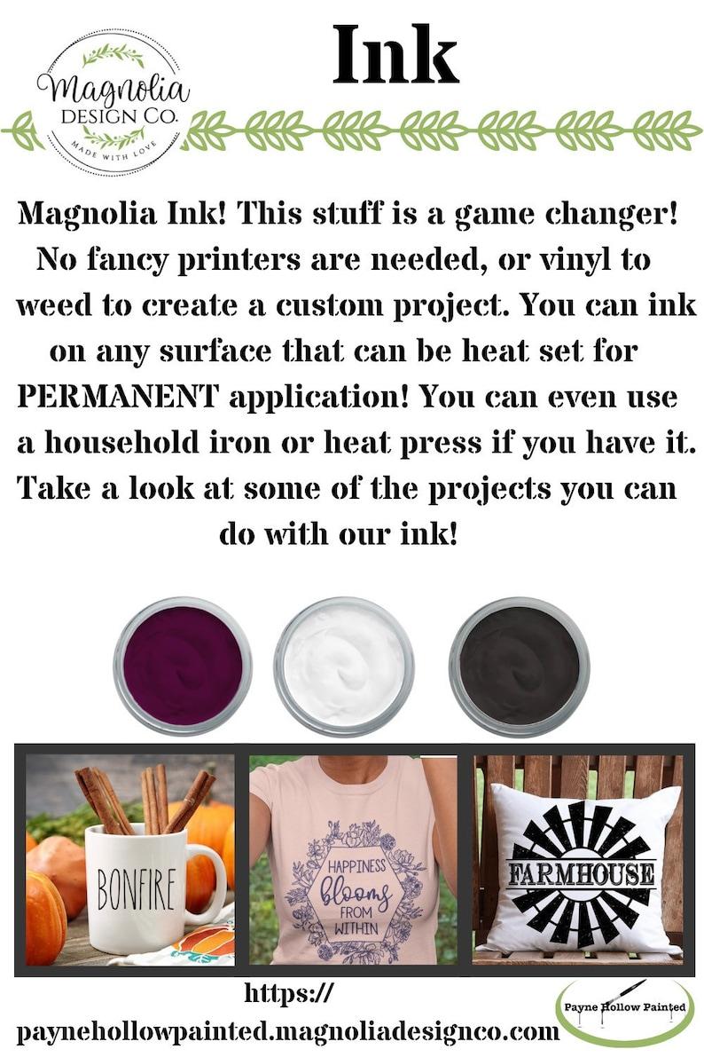 MR MRS BUNDLE 8.5 X 11 Reusable Silkscreen Stencil by Magnolia Design Co. Reusable Self Adhesive Stencil