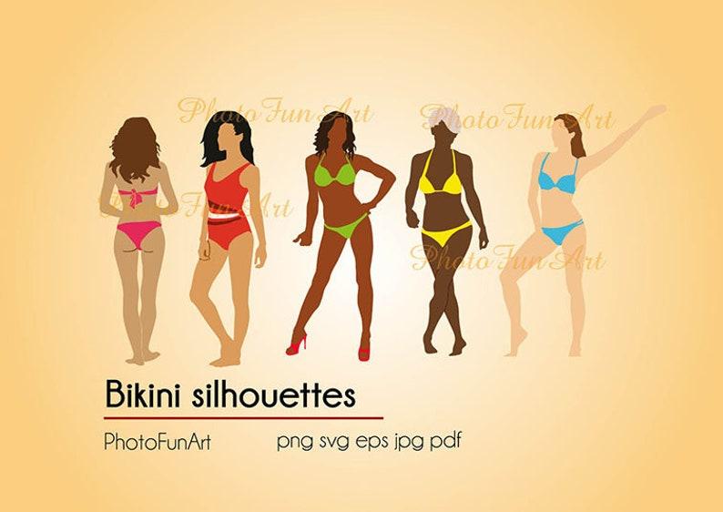 757a7d08cd Bikini silhouette svg png vector graphic women swimsuit bikini