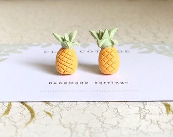 64d4bec60 Pineapple Stud Earrings