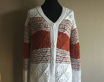 Beautiful hand Knitted Vest Mt 42/44