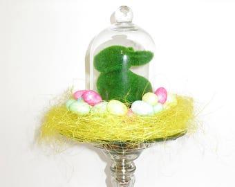 Spring bunny centerpiece, Spring Table decoration, Summer Centerpiece, Summer table decoration