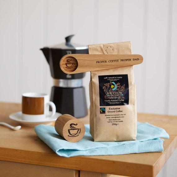 Personalized Coffee Scoop + Sealer
