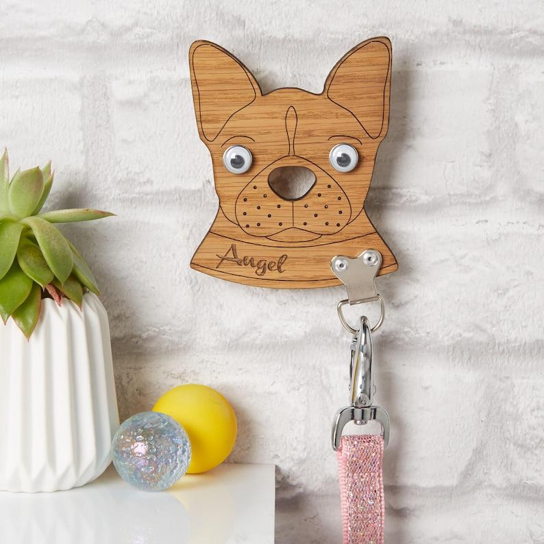 Personalised French Bulldog Lead Holder / Dog Lover / Leash image 0