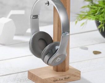 Personalised Headphone / Headset Stand Holder.