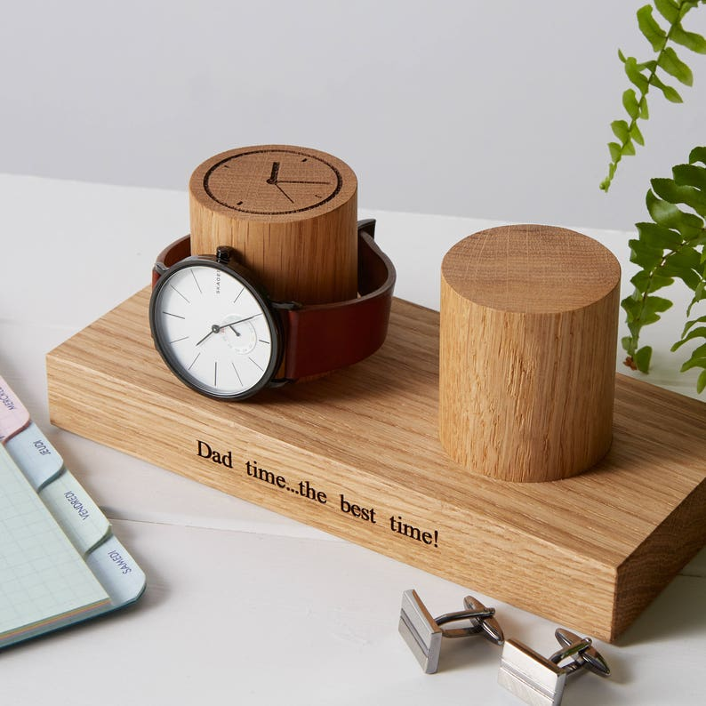 Watch Stand for Two Watches / Personalised Watch Display / image 0
