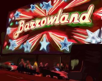 A4 Print Barrowland Ballroom
