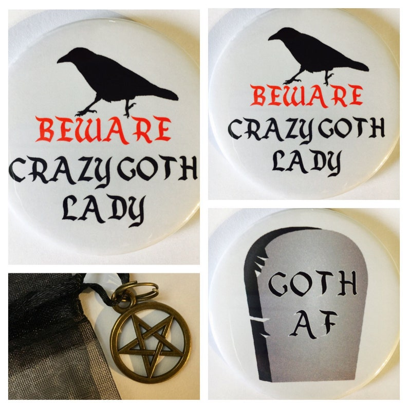 Funny Beware Crazy Unicorn Lady Fridge Magnet