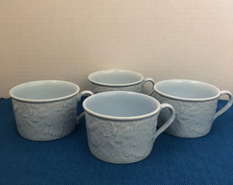 Mikasa English Countryside Blue Mugs