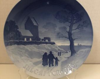 Bing & Grondahl Christmas Plate 1926