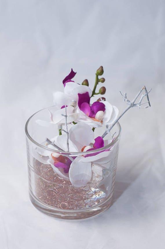 Weihnachten Mit Phalaenopsis Orchideen Im Glas Etsy