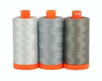 Aurifil Color Builder Thread Box - Milan Gray
