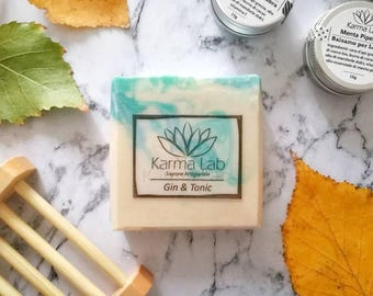 Gin and Tonic Handmade Soap, Soap for Men, Artisan Soap, Gin Lover, Gin Gift, Handcrafted Soap, Gift Ideas for Men, Mens Gifts, Men's Soap