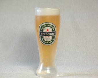 Glass of beer  Christmas gift Soap Heineken Soap foam gift for father Souvenir soap present to man unique soap