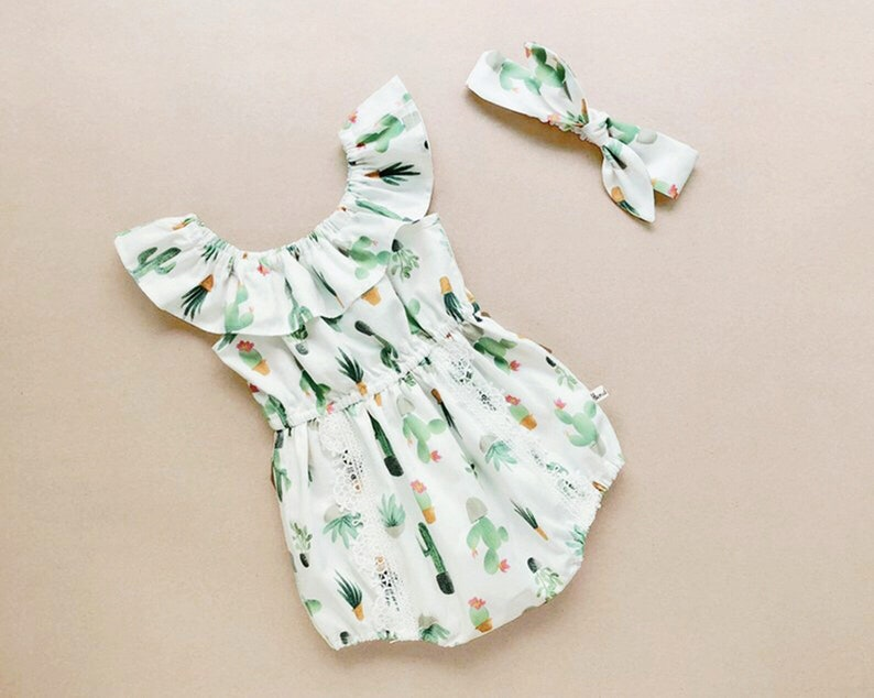 fccbdbe42 Baby girl outfits baby girl romper baby girl clothes baby   Etsy