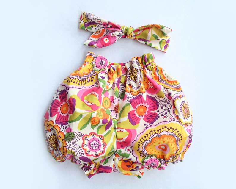 35763144c1a0 Baby bloomers and Headband set baby girl clothes baby girl   Etsy