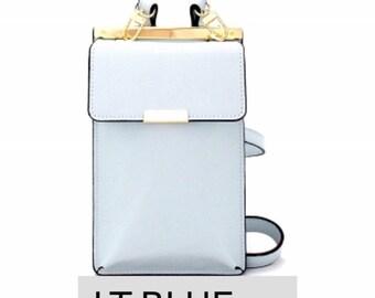 Credit card & cell phone crossbody bag