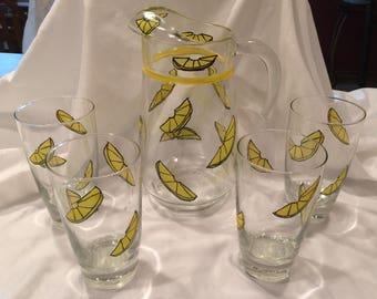 Lemonad Pitcher Set