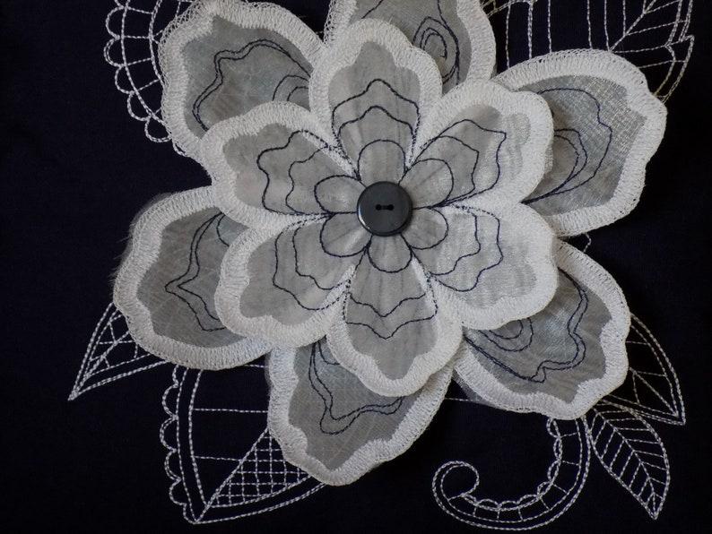 3D Flower Toss Pillow