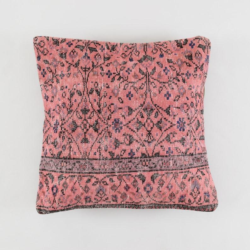 rug pillow cover 28x28 turkish pillow case moroccan pillow 70x70 carpet pillow cover southwestern tribal berber persian boho pillow cover