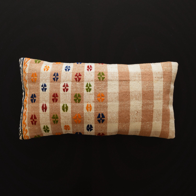 Cuscini 30x60.Embroidery Cotton Kilim Pillows Rug Pillow Cotton Kilim Pillow Etsy