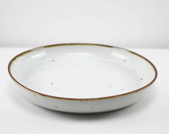 "Stoneware serving dish ""Brown Mist"" by Niels Refsgaard, Dansk Designs"