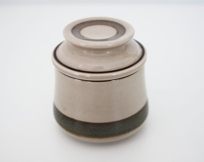 Stoneware Sugar Bowl with lid (Peru 583) by Bing and Grondahl