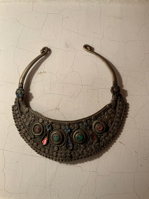 African Choker Collar, Museum Quality African Chok