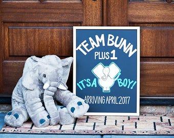 Custom Baby Announcement Board