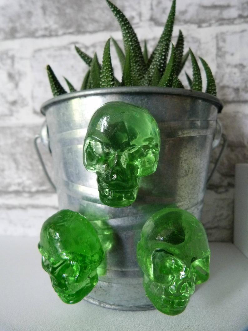 Resin Skull Magnets Skull Fridge Magnet Buy One get One Free