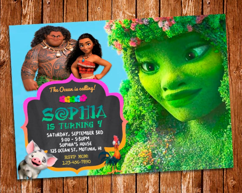 photo about Printable Moana Invitations named Moana Invitation, Moana Birthday Invitation Printable, Moana Birthday Card, Moana Printables, Moana Invite, Moana Birthday Invitation, Moana