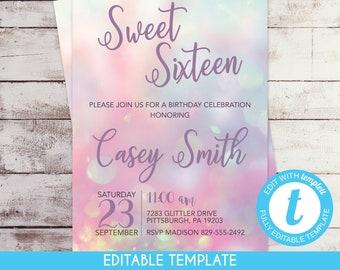 template digital printed invitations by swiftdesignbymadison