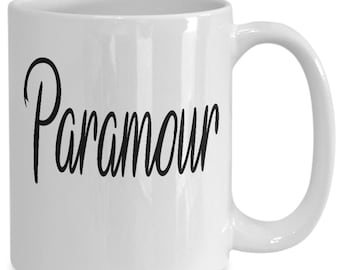Paramour Couples Mugs - Paramour - 11oz or 15oz Ceramic Cups For Coffee And Tea