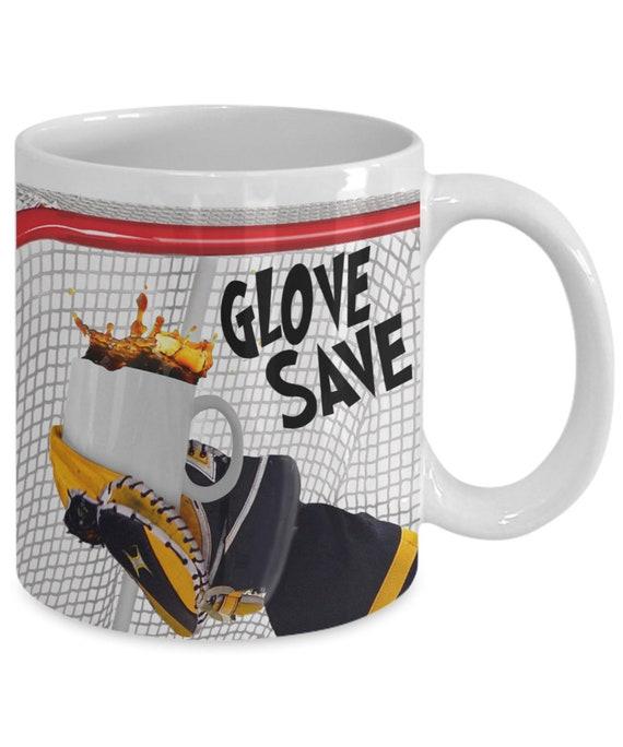 Hockey Player Jersey Mug 15oz Coffee Tea