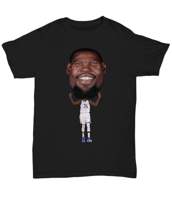 34557591 Warriors MVP Caricature TShirt - Kevin Durant Tee - Basketball Champions  from the Golden State Tee Shirt