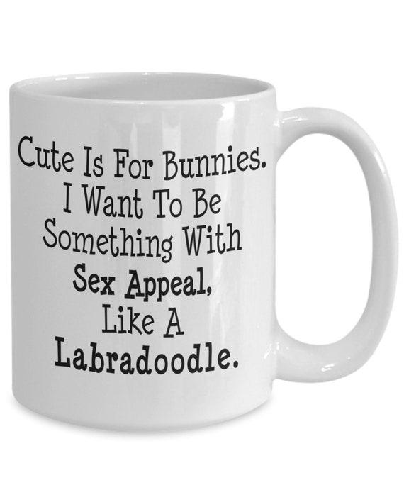 Funny Labradoodle Mug Dog Mom Gifts White  Coffee Mug 11oz 15oz