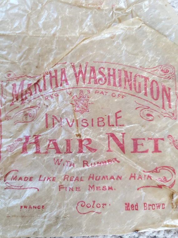 Antique hair net package