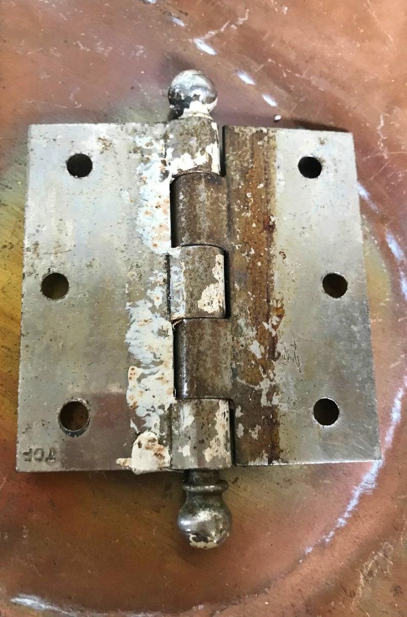 Old Hardware Vintage Hinges Industrial Decor Door Hardware Vintage Supply Vintage Door Hinges DOOR HINGES Vintage Hardware Hinges.