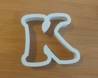 letternumber cookie cutter